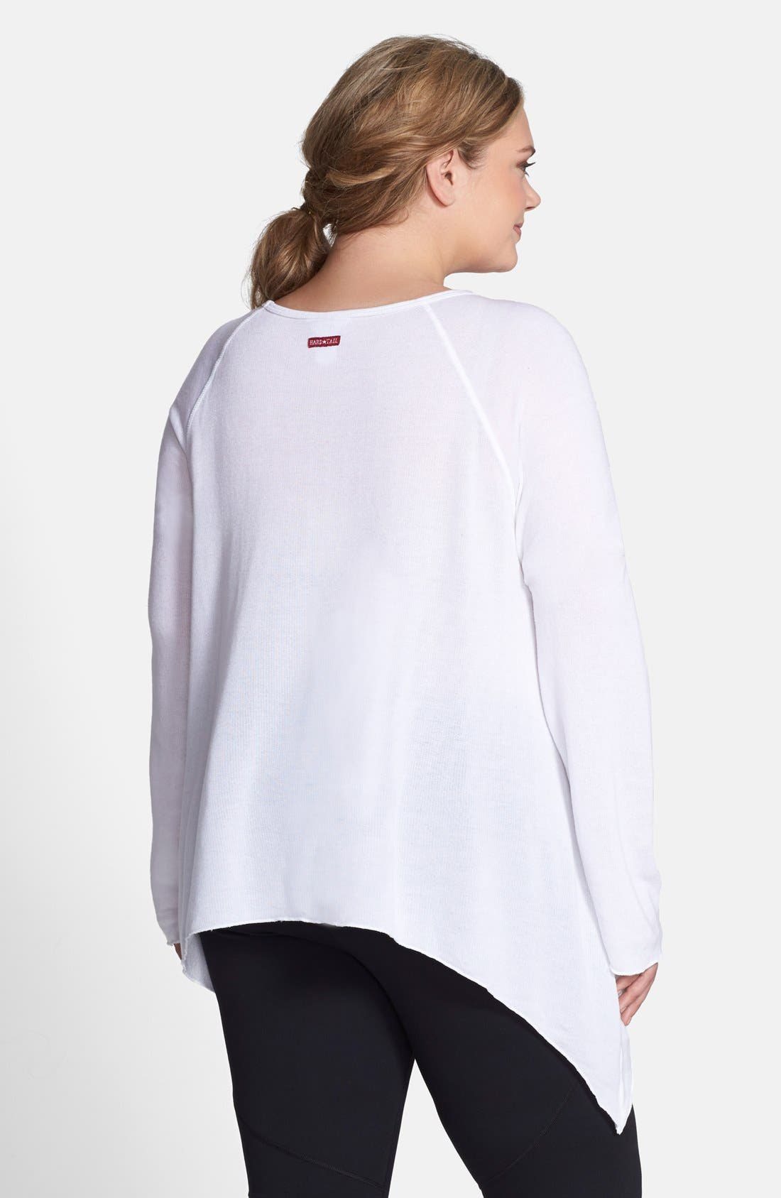 Alternate Image 2  - Hard Tail 'Frolic' Asymmetrical Top (Plus Size)