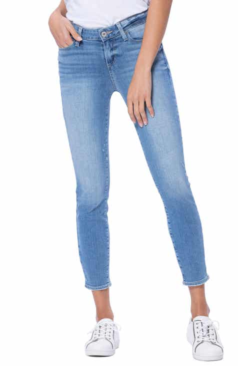 Wit & Wisdom Ab-Solution High Waist Ankle Skinny Jeans (Regular & Petite) (Nordstrom Exclusive) by WIT AND WISDOM