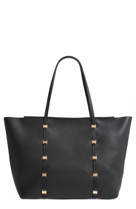 52d1903dbd Salvatore Ferragamo Large Emotion Leather Tote