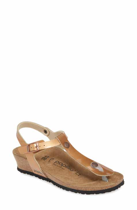 c805305ed5e5 Papillio By Birkenstock  Ashley  T-Strap Wedge Sandal (Women)