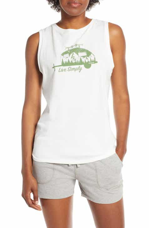 dc7588ca9ae2f5 Patagonia Live Simply® Trailer Graphic Muscle Tee