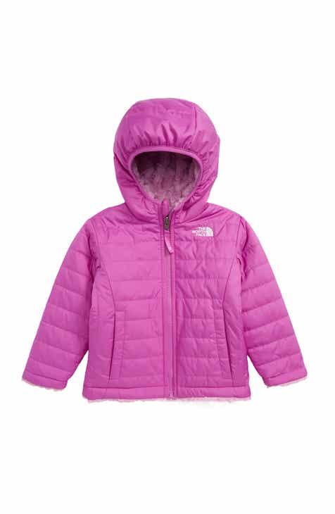 07ae8e993 The North Face Mossbud Swirl Reversible Water Repellent Heatseeker™ Jacket  (Toddler Girls & Little Girls)
