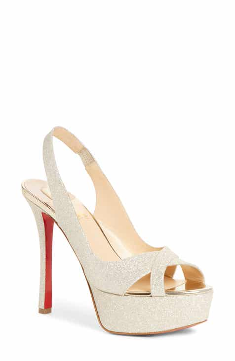 new products ed51e 0ec65 Women's Christian Louboutin Wedding Shoes | Nordstrom