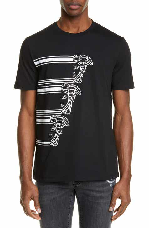 f3b29dad4f5 Versace Collection Stampa Medusa Graphic T-Shirt