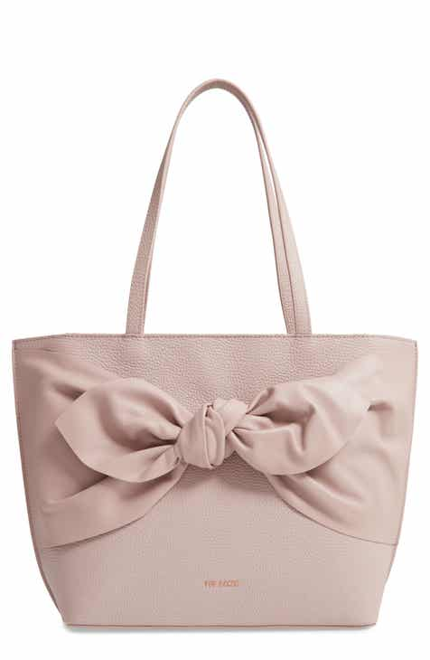 ac5a6418075b Ted Baker London Diiana Soft Knot Detail Leather Shopper