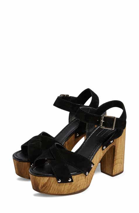 e4eabf2ef494 Topshop Vanessa High Heel Clog Sandal (Women)