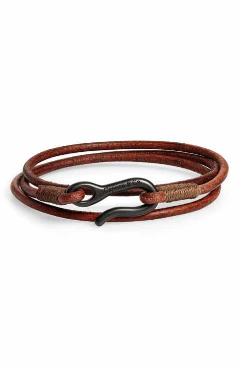 31af4f90b Men s Bracelets  Leather