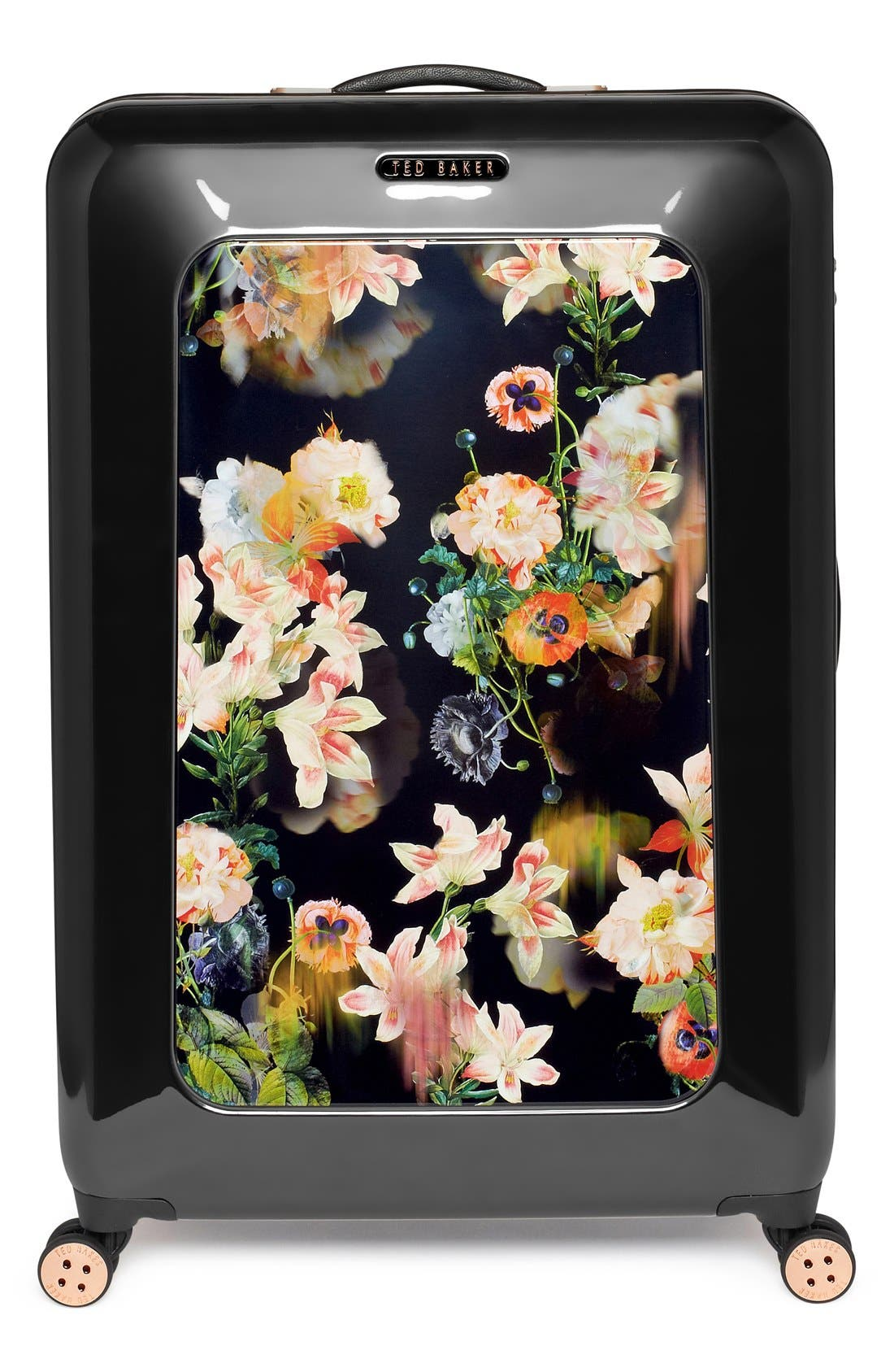 Alternate Image 2  - Ted Baker London 'Large Opulent Blooms' Hard Shell Suitcase (32 Inch)