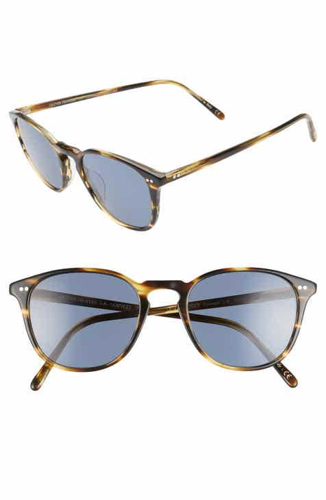 7c1cd321f12e6 Oliver Peoples Forman L.A. 51mm Polarized Round Sunglasses