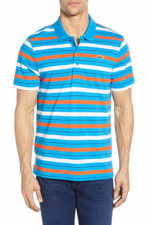 1da4d6b1 Lacoste Super Light Regular Fit Stripe Piqué Polo