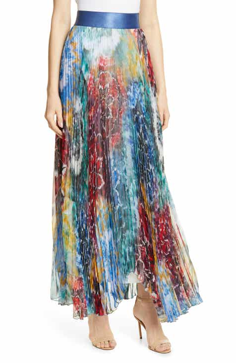 94ed4f138 Alice + Olivia Shannon Pleated Maxi Skirt