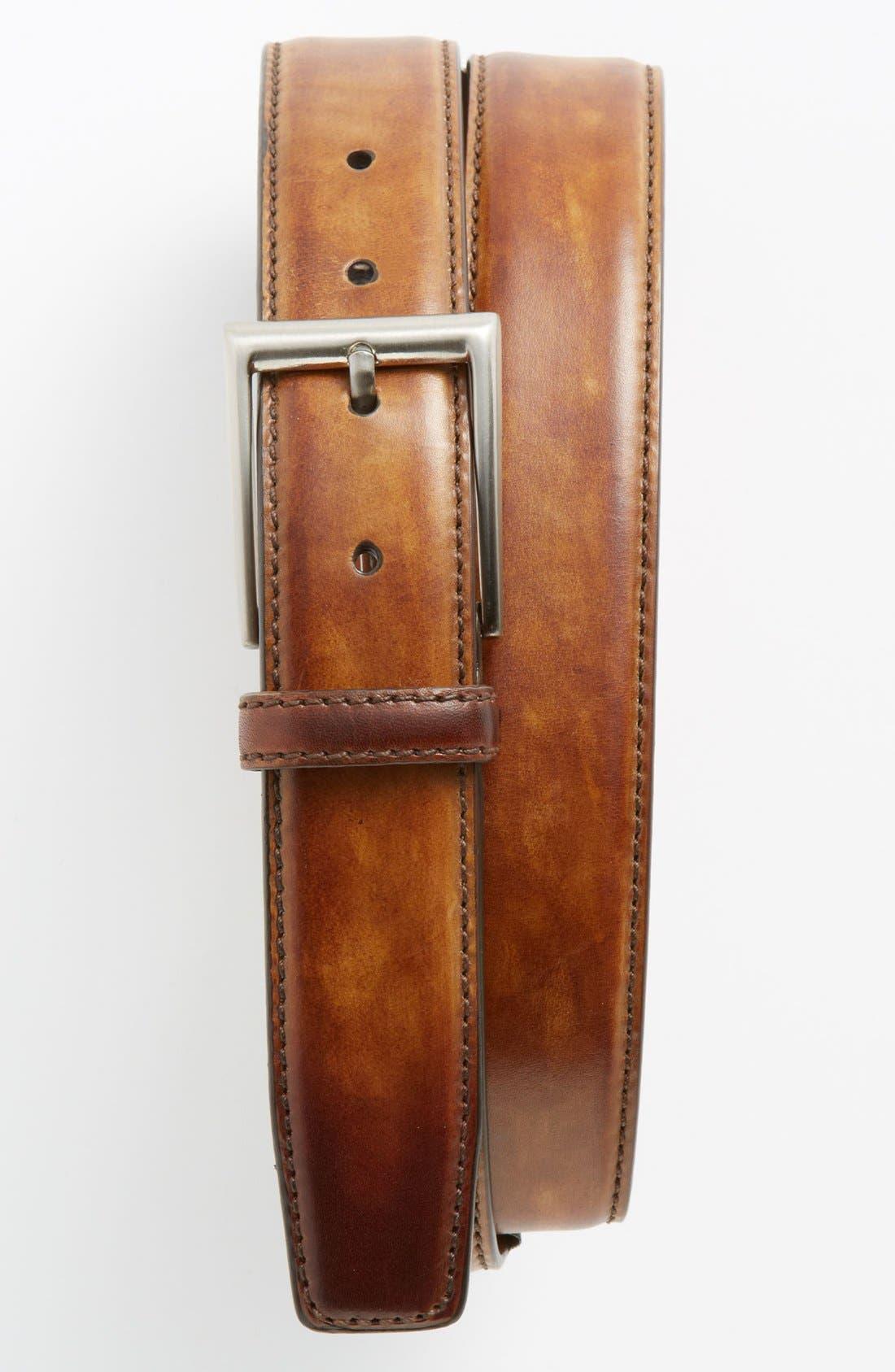 'Catalux' Belt,                         Main,                         color, Tobacco