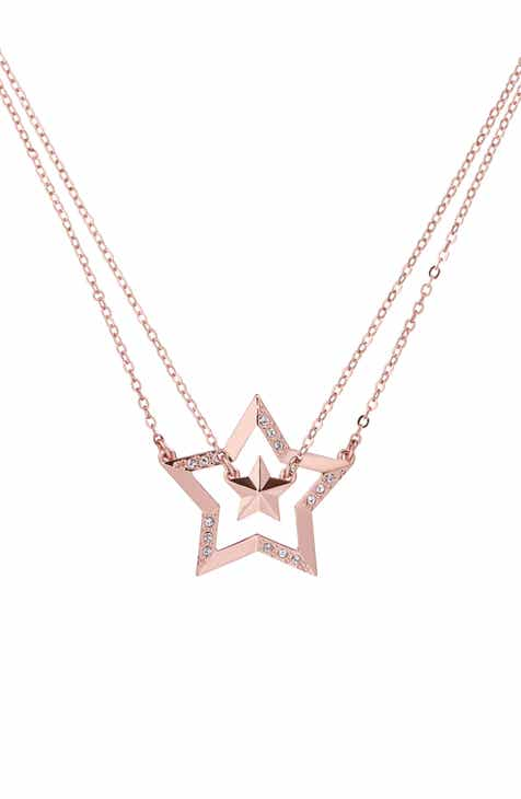 675aa6de6 Ted Baker London Idolina Interstella Double Pendant Set of 2 Layered  Necklaces.  109.00. Product Image. SILVER  ROSE GOLD