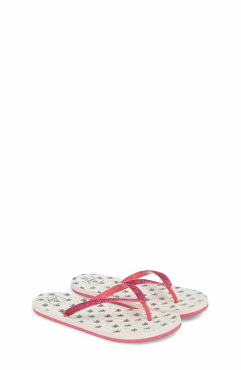 11a479422 Reef Little Stargazer Print Flip Flop (Baby