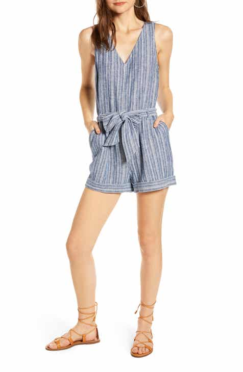 Treasure & Bond Stripe Romper