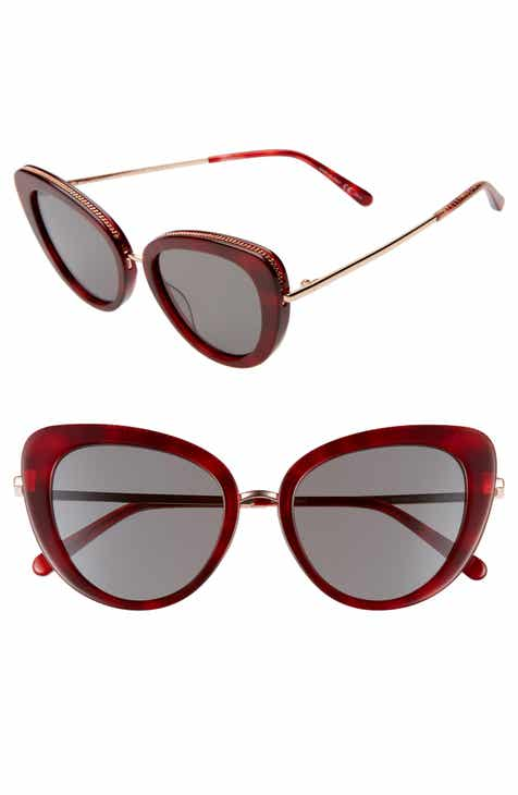 80f84702223 Stella McCartney 50mm Cat Eye Sunglasses