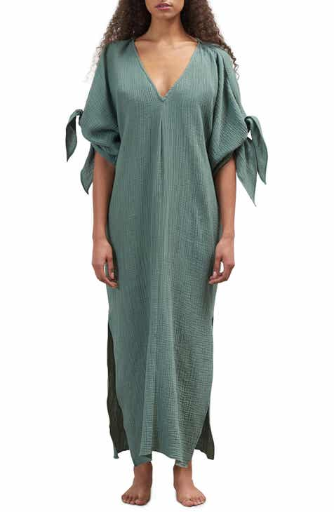 df87dbaf0d Mara Hoffman Tora Cover-Up Maxi Dress