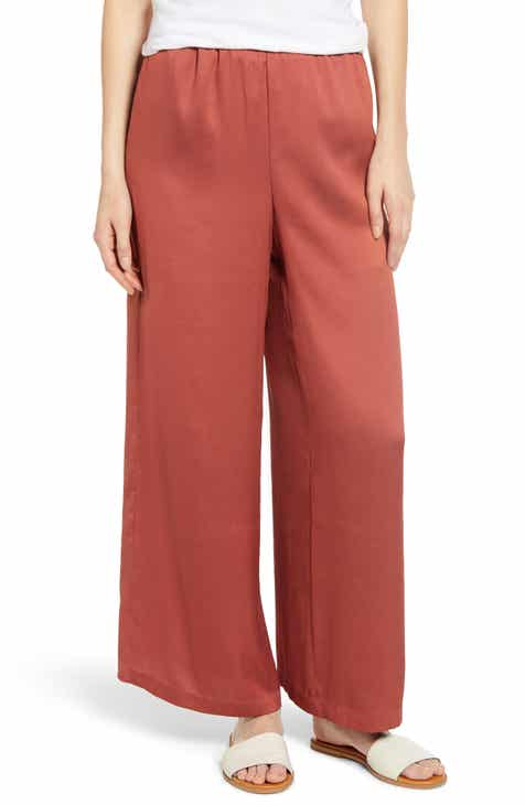 L'AGENCE Ludivine Crease Front Crop Trousers by LAGENCE
