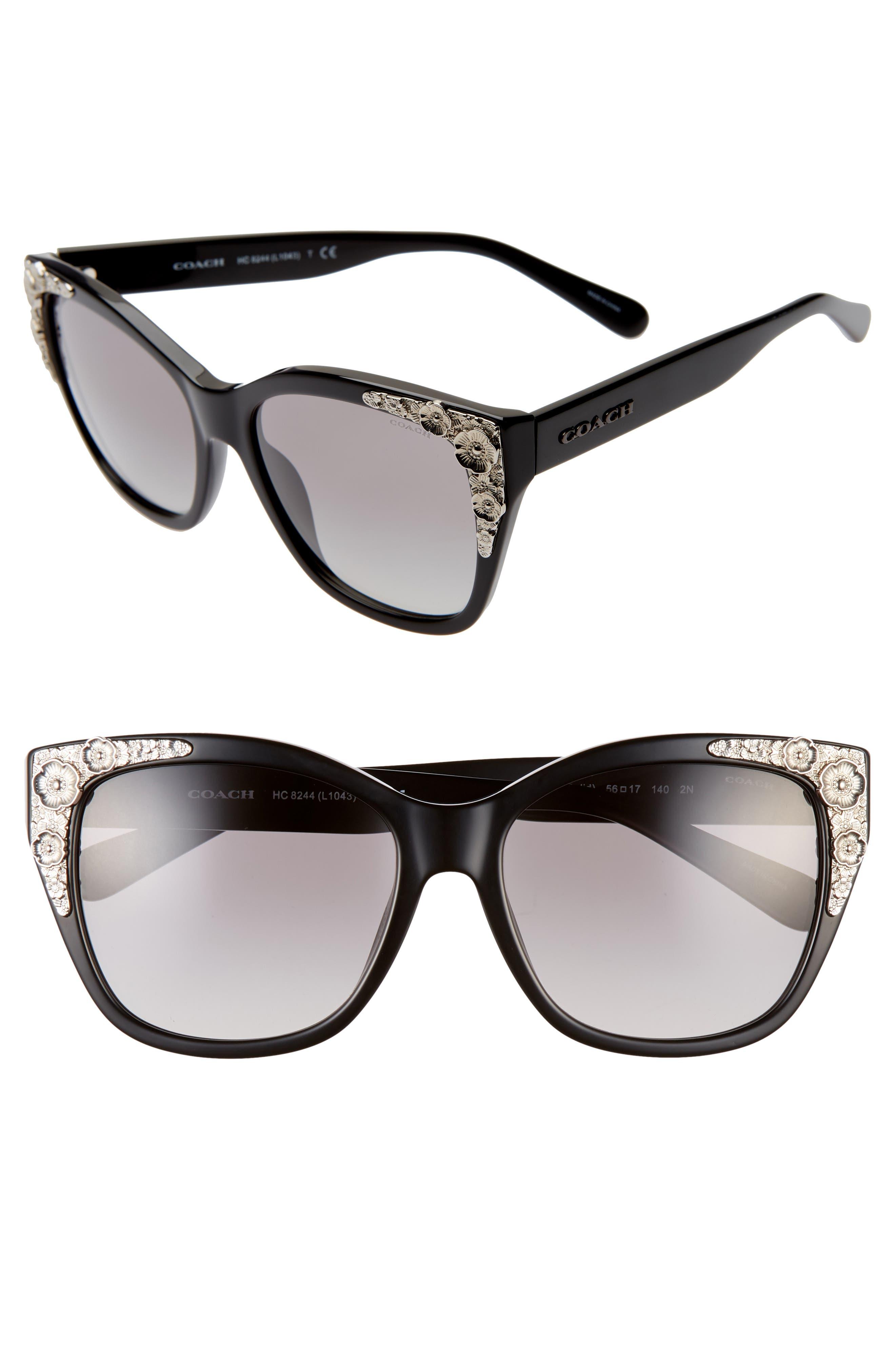 11c972e611 Women s COACH Cat-Eye Sunglasses