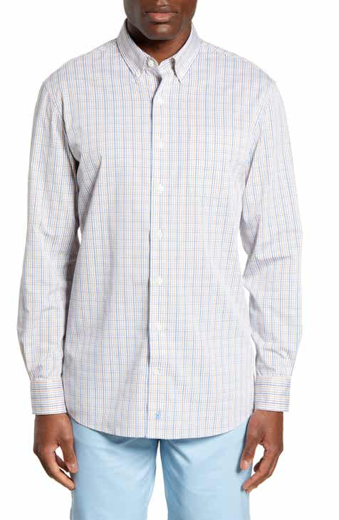 df4920a6178fe5 johnnie-O Coleman Classic Fit Prep-Formance Button-Down Sport Shirt