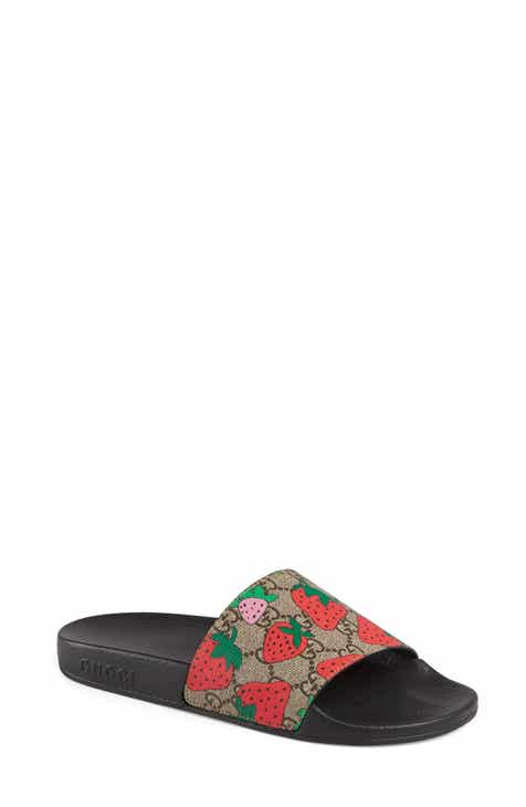 640ffe7e2 Gucci Pursuit Slide Sandal (Women)