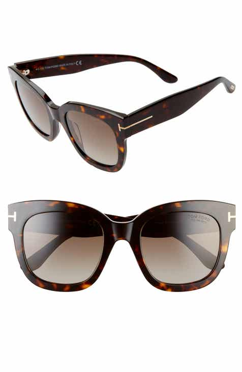 d2982f8aee692 Tom Ford Beatrix 52mm Polarized Sunglasses