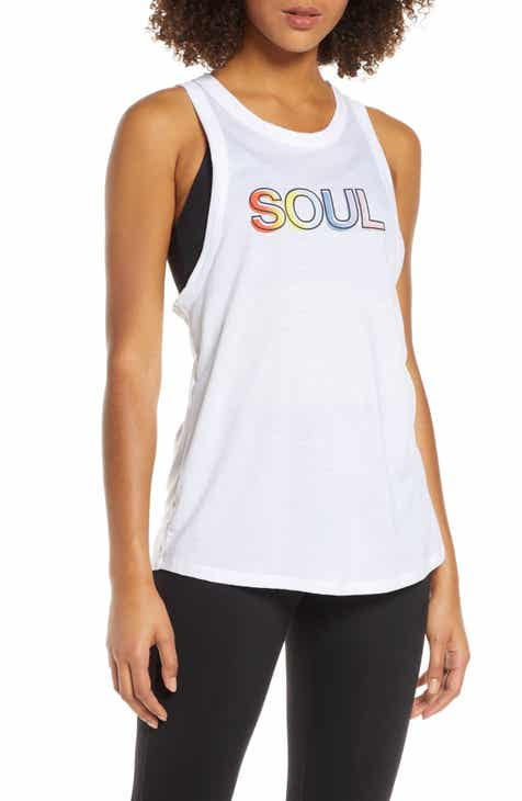 Soul by SoulCycle Front Row Racerback Tank