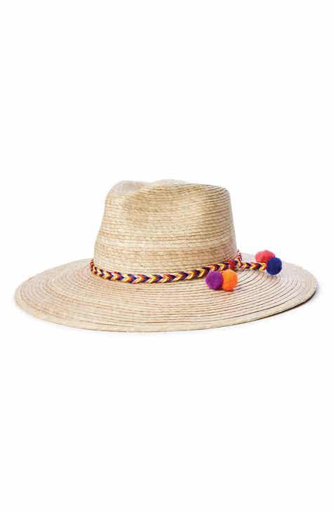 14a8147c69f61 Brixton Joanna Palm Hat