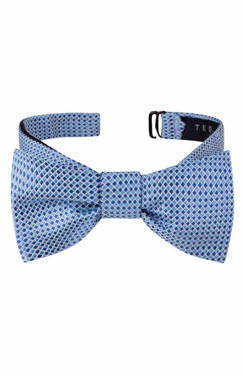 fb0a8968e2ce Ted Baker London Check Silk Bow Tie