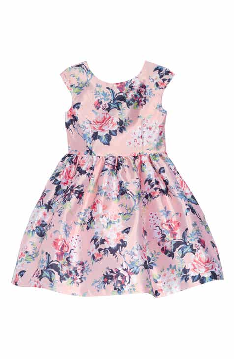 0801a0dadf551 Pippa & Julie Floral Mikado Dress (Toddler Girls, Little Girls & Big Girls).  $58.00. Product Image