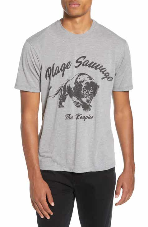 8ce95e2902c7b The Kooples Plage Sauvage Panther T-Shirt