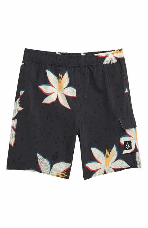 bbd59df3d1 Volcom True Volley Swim Trunks (Toddler Boys & Little Boys)