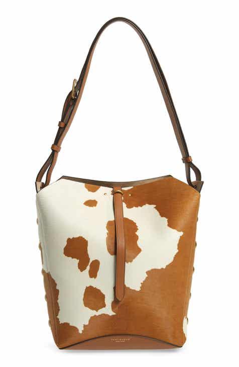 e24231fa9 Tory Burch Rowan Genuine Calf Hair Bucket Bag