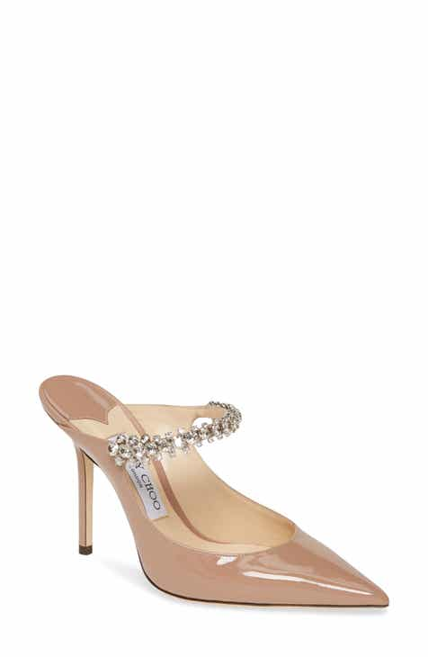 6a8df0b4f5 Jimmy Choo Embellished Mule (Women)