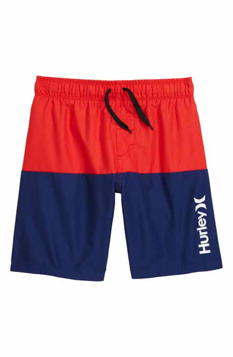 1451be7556 Hurley Colorblock Swim Trunks (Toddler Boys & Little Boys)