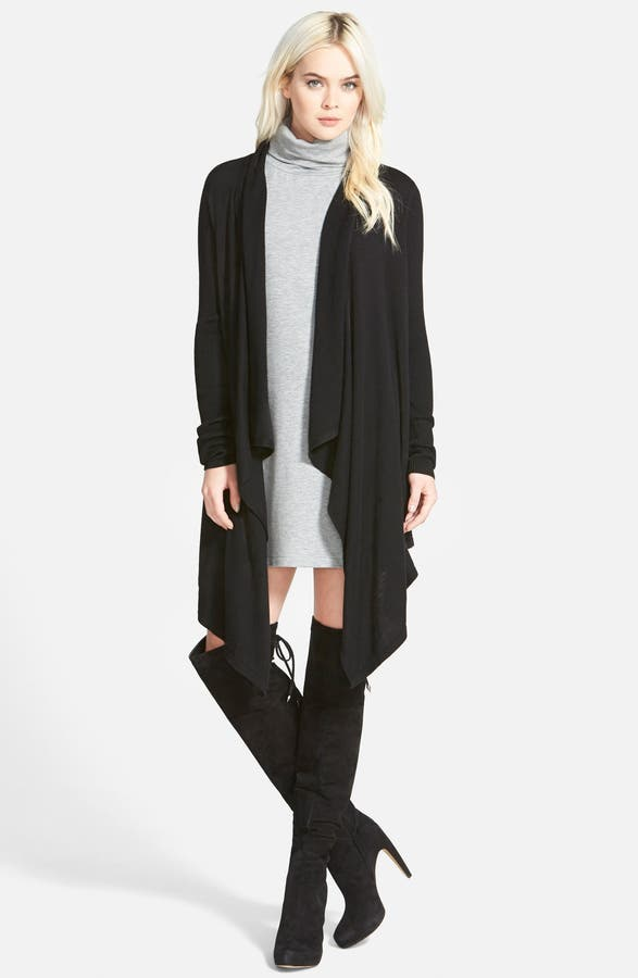 Leith Waterfall Open Front Cardigan | Nordstrom