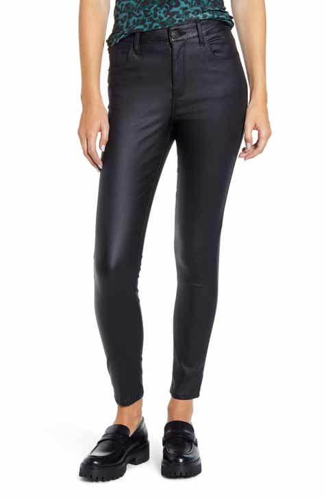 STS Blue Ellie Coated High Waist Ankle Skinny Jeans