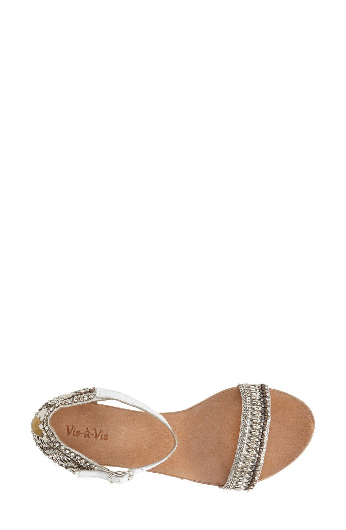 Alternate Image 3  - Vis-à-Vis 'Honi' Embellished Sandal (Women)