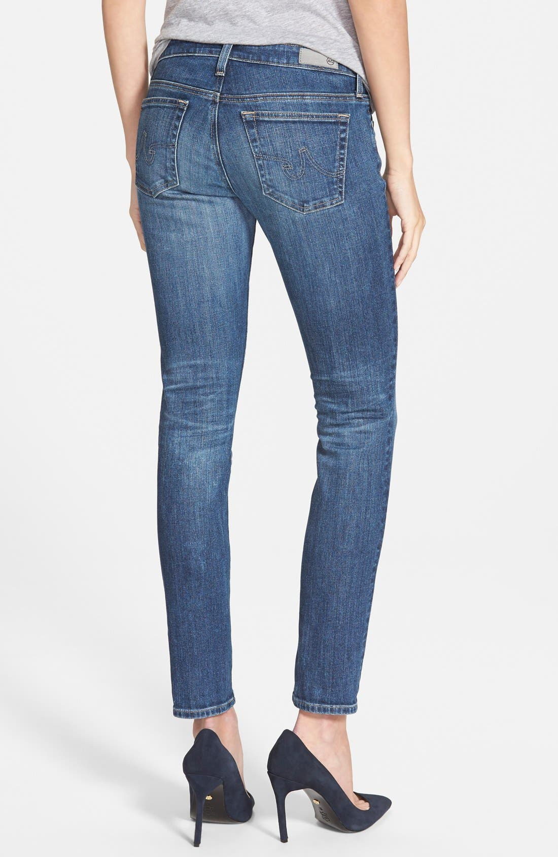 Alternate Image 3  - AG 'The Stilt' Cigarette Leg Jeans (Four Year Dreamer) (Nordstrom Exclusive)