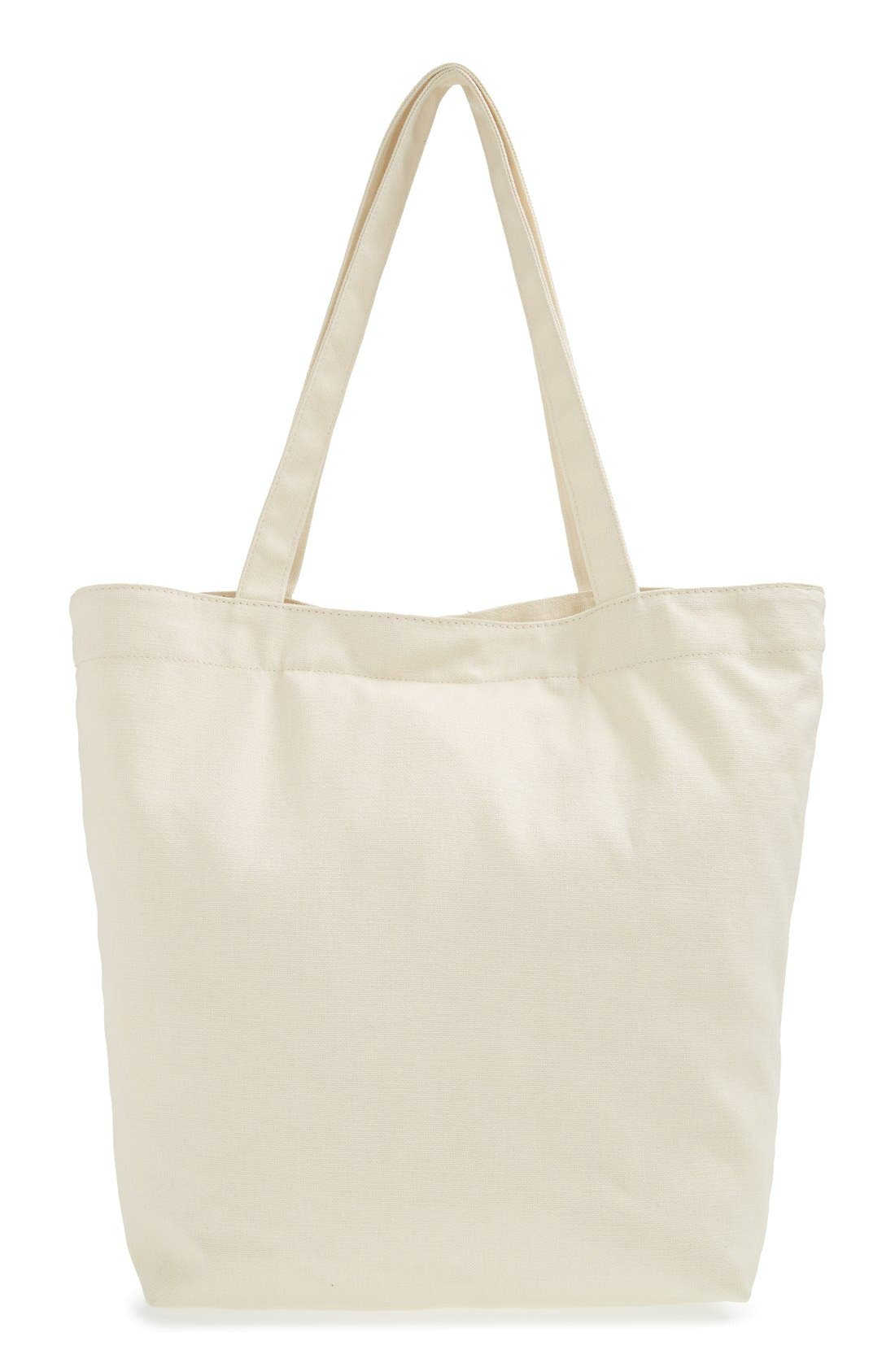 Alternate Image 4  - BP. Printed Canvas Tote