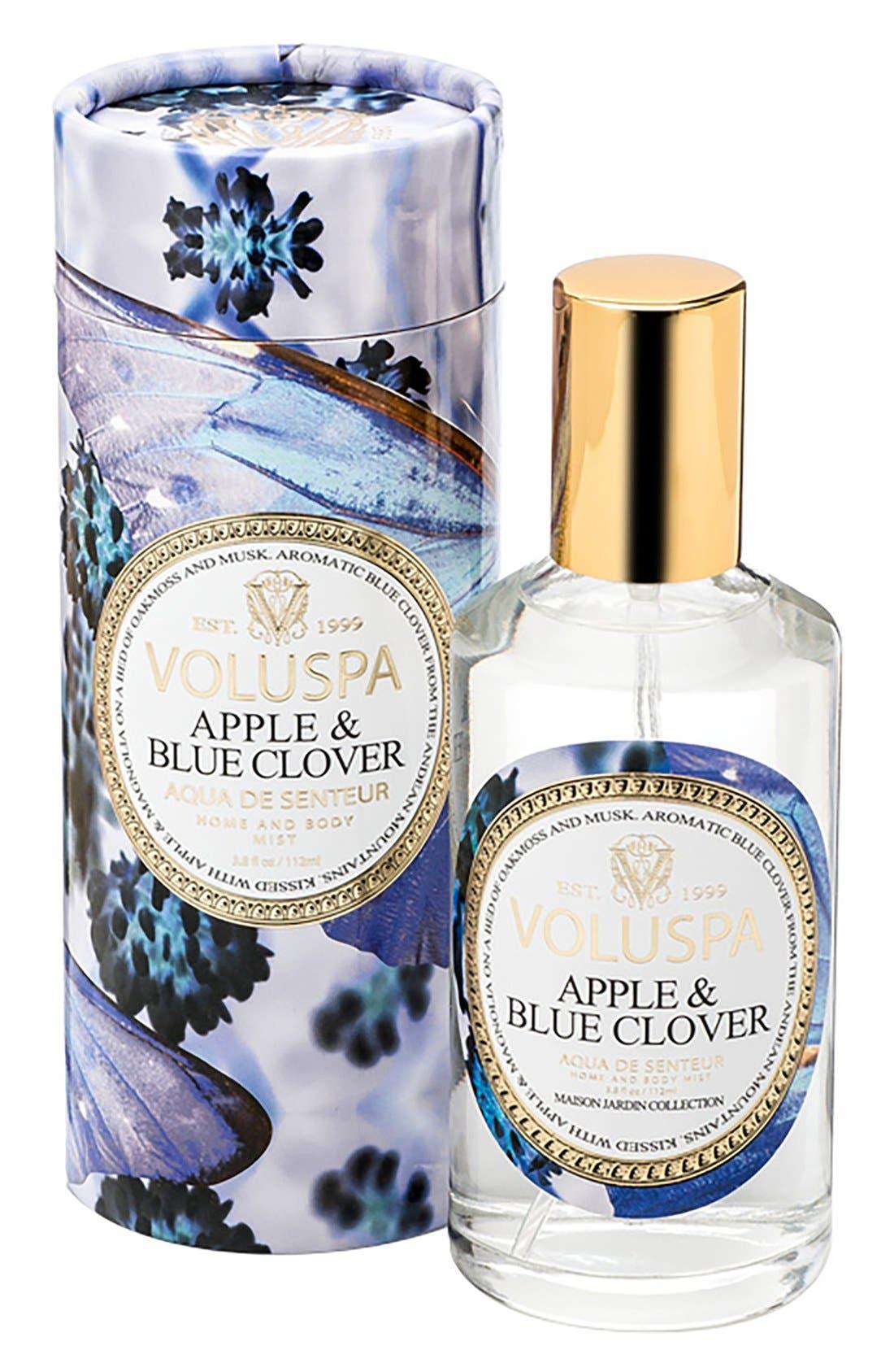 Maison Jardin Apple & Blue Clover Home & Body Mist,                         Main,                         color, Apple Blue Clover