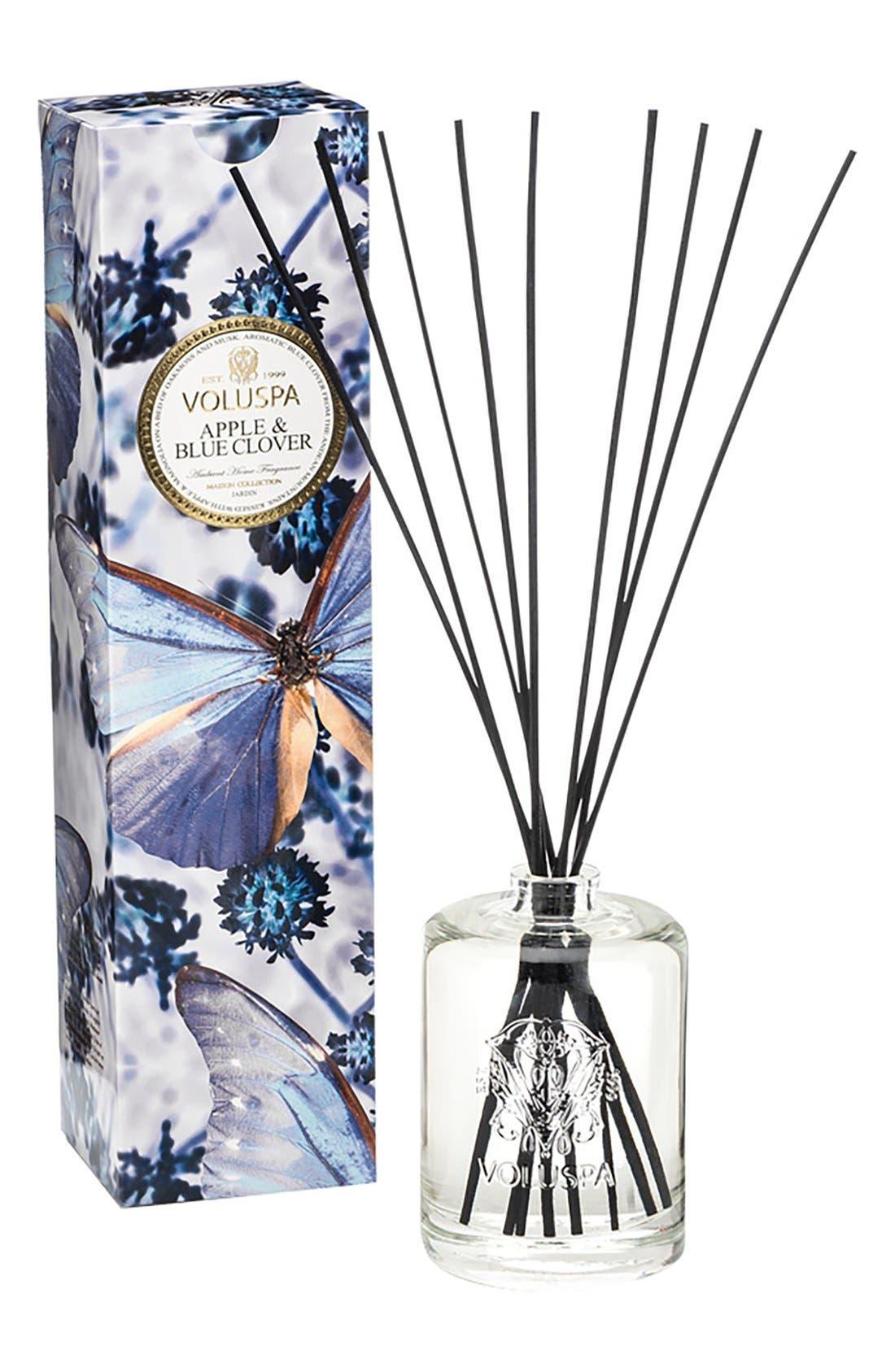 Maison Jardin Apple & Blue Clover Fragrant Oil Diffuser,                             Main thumbnail 1, color,                             Apple Blue Clover