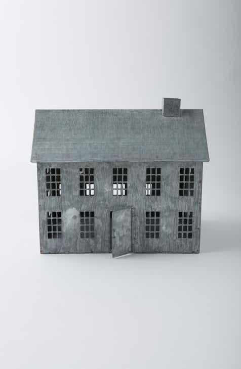 Terrain Metal Saltbox House Decoration