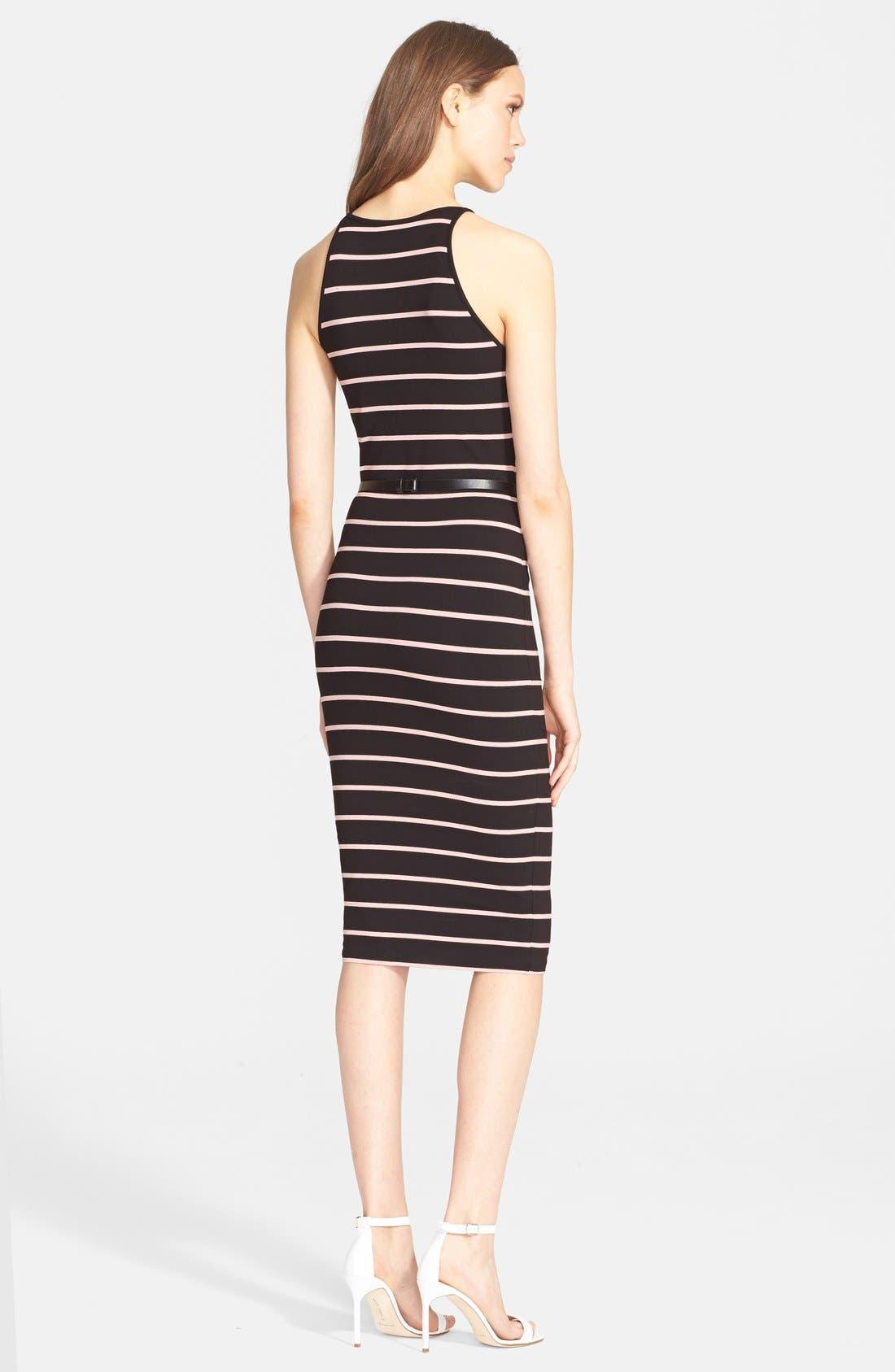 Alternate Image 2  - Ted Baker London 'Linn' Stripe Midi Dress