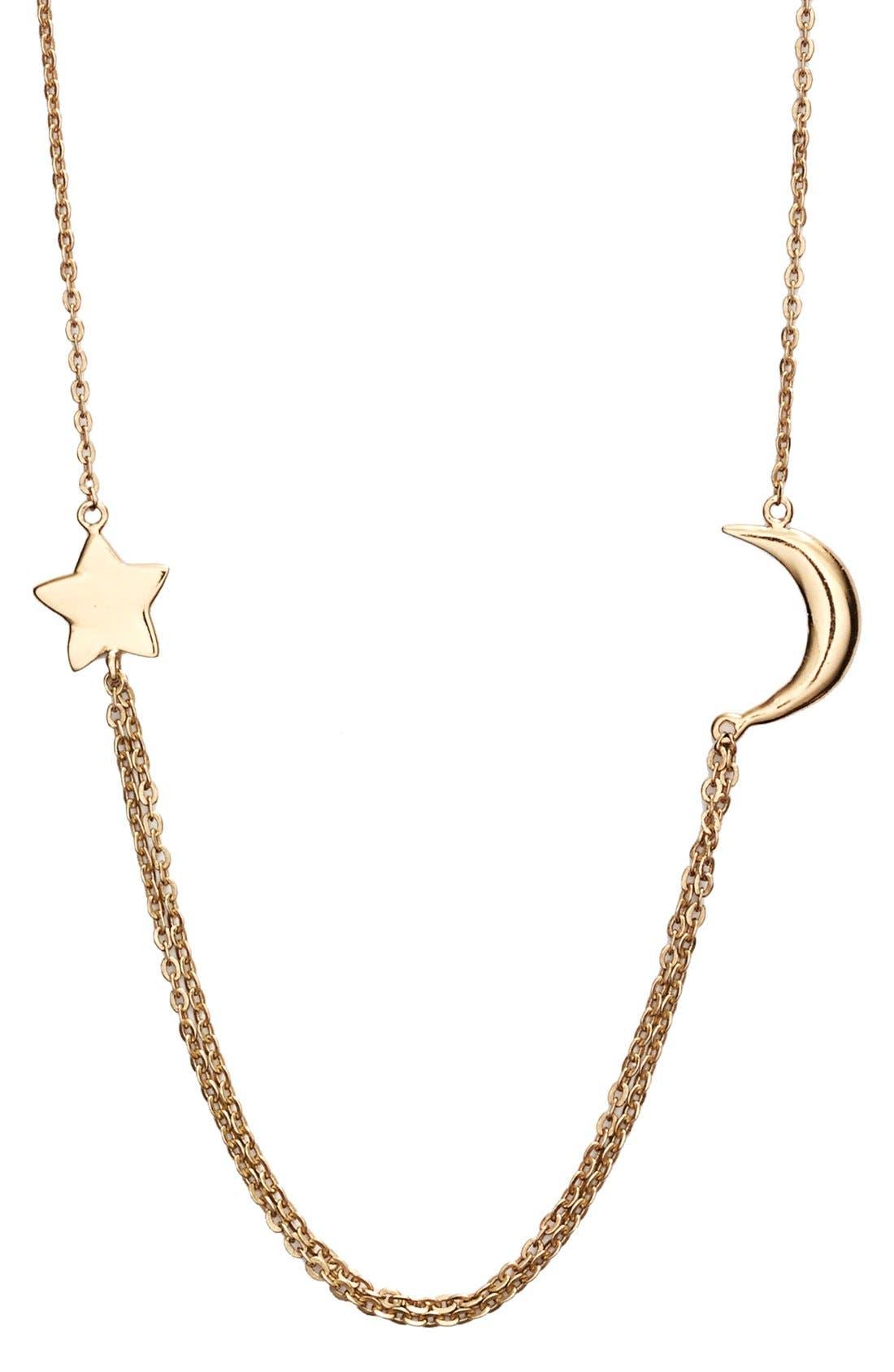 Main Image - Melinda Maria Moon & Star Station Necklace