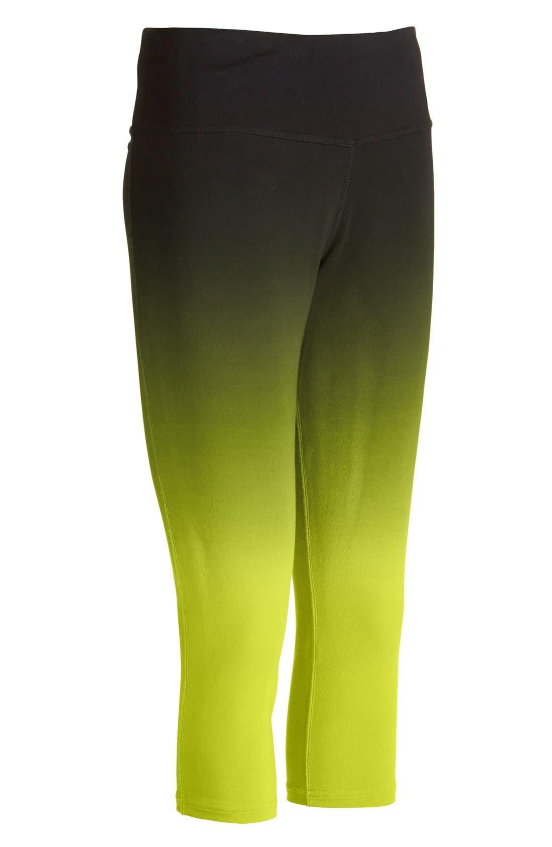 Alternate Image 5  - Nike 'Legend 2.0 Sunset Tight' Dri-FIT Training Capri Leggings (Women)
