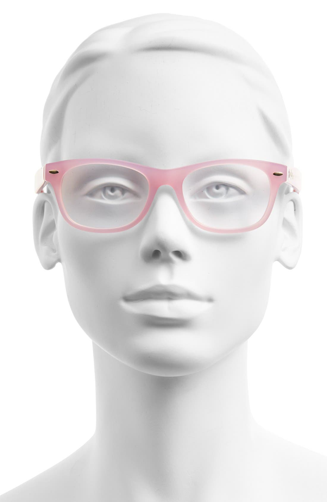 Alternate Image 2  - Lilly Pulitzer® 'Skipper' 51mm Reading Glasses