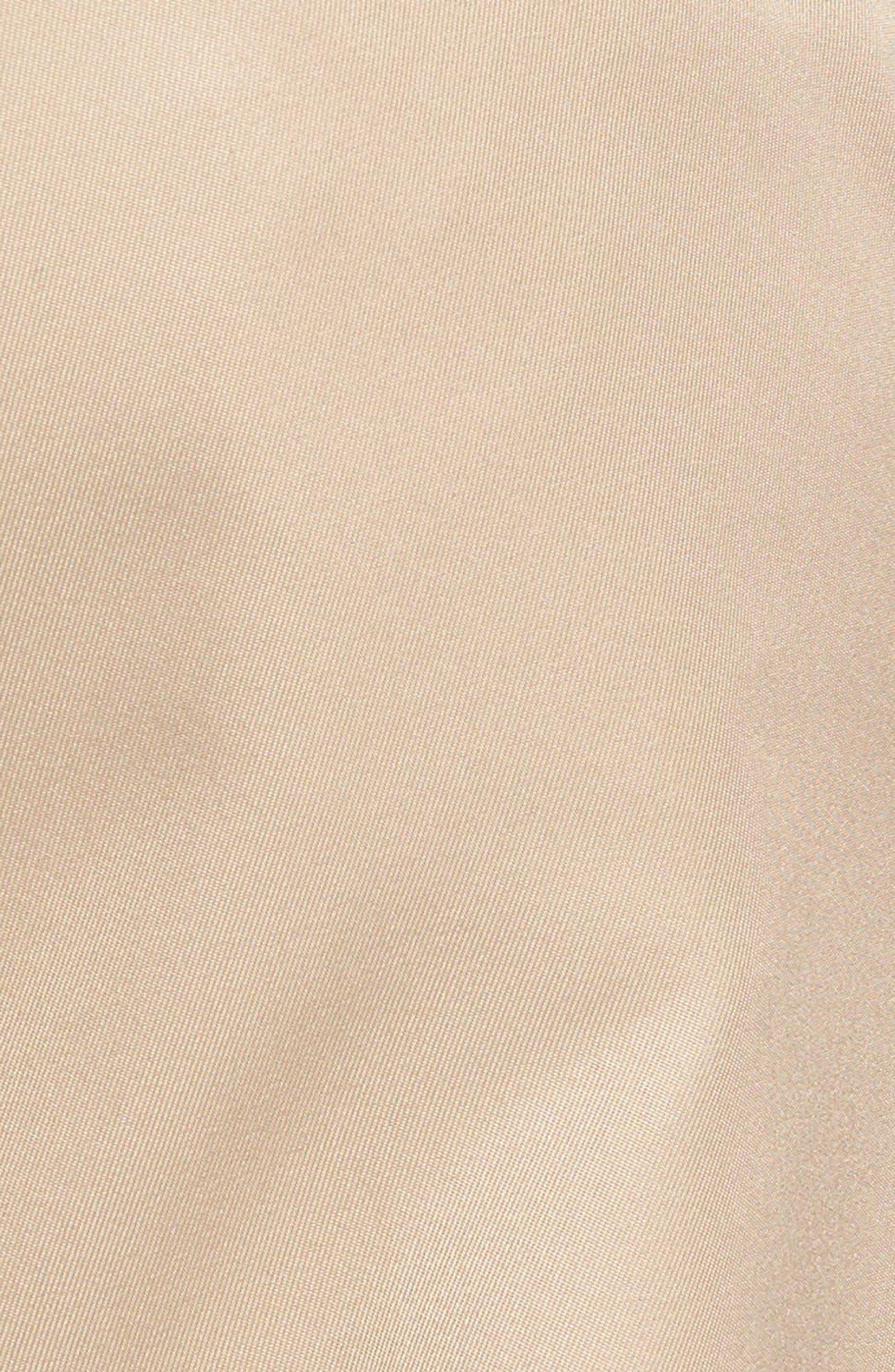 Self Sizer Waist Flat Front Trousers,                             Alternate thumbnail 2, color,                             Tan