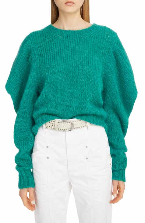 Isabel Marant Oversize Mohair Blend Sweater