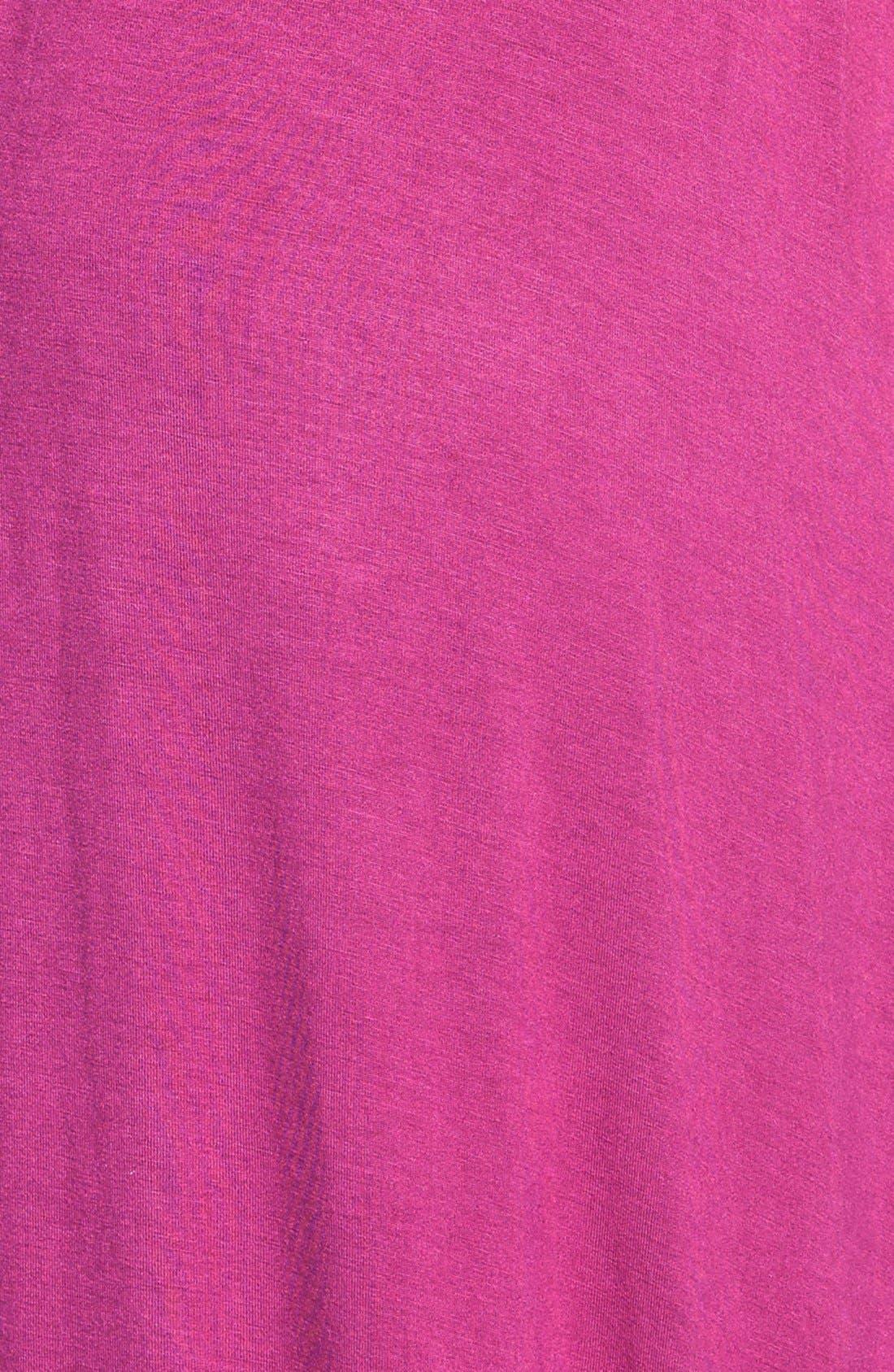 Alternate Image 3  - Halogen® Blouson Dress with Asymmetrical Hem (Regular & Petite)